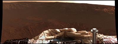 Foto der Marssonde Opportunity