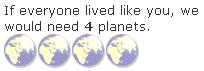 [Ergebnis Disposable Planet-Quiz]