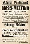 [Plakat Chicago 1886]