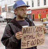 [Pic: Will Code HTML For Food]