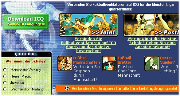 [Screenshot von german.icq.com]
