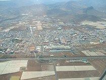 [Landeanflug auf Gran Canaria]