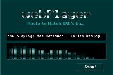 [Der Webplayer spielt das Netzbuch ...]