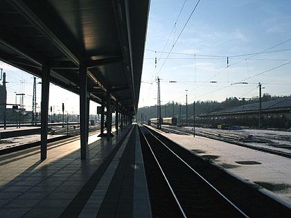 Bahnhof Wiesbaden Ende Dezember 2003