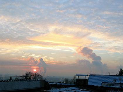 Bild: Wintermorgen 1