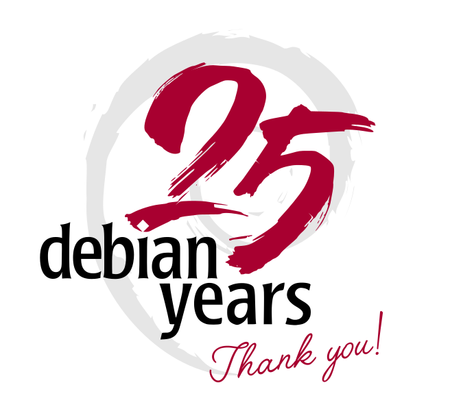 25 Years of Debian, from bits.debian.org