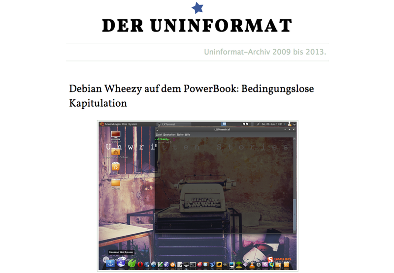 Screenshot v1.uninform.at